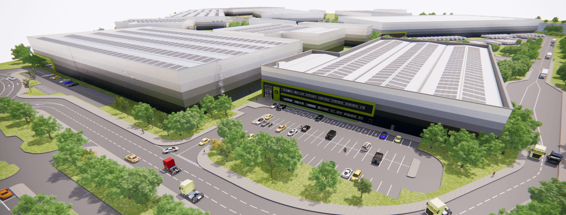 SmartParc Partners with SEGRO to Deliver High-Tech Food Manufacturing & Distribution Campus